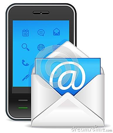 Send a letter icon