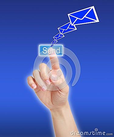 Free Send Message Stock Image - 37762841