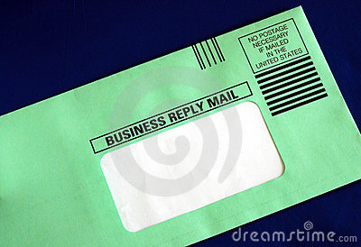 Send out a business reply letter