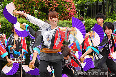 Japan : Sendai Suzume Odori 2011 Editorial Photography