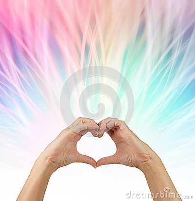 Free Sending Love Vibes Out Stock Photo - 53193780