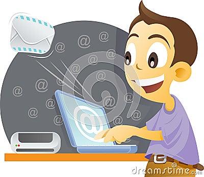 Sending mail.