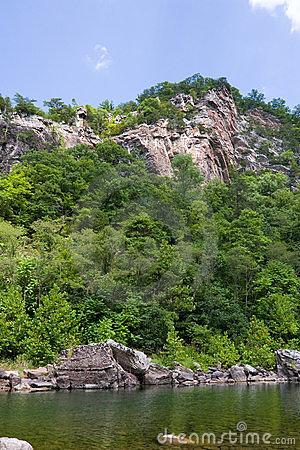 Seneca - Rocks, Trees, River