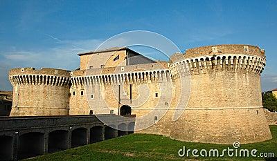 Senigallia (ITALY) - Della Rovere Medieval Castle