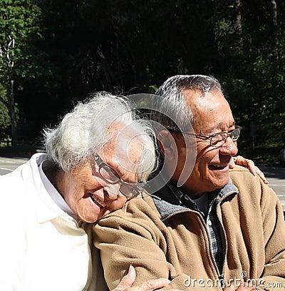 Senior Aged Couple