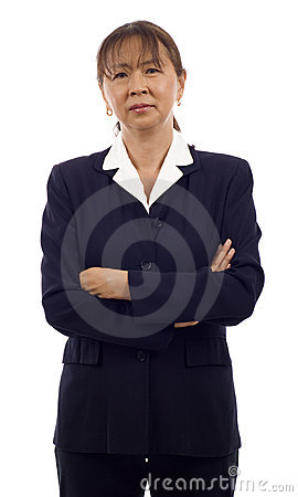 Senior Asian Business Woman