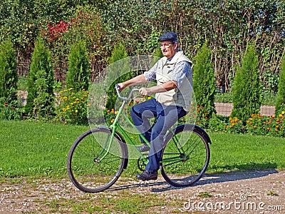 Senior biking 3