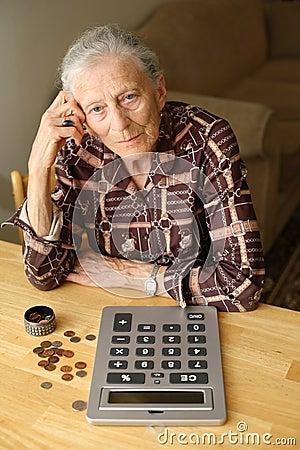 Free Senior Budget Royalty Free Stock Images - 4671659