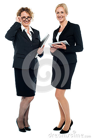 Senior business executives