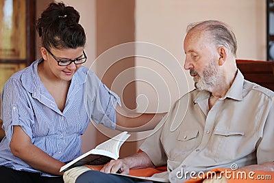 Senior carer