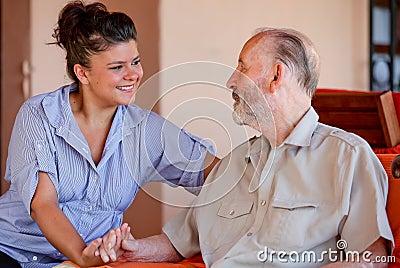 Senior carer or nurse