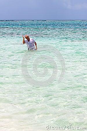 Senior Citizen Snorkeling
