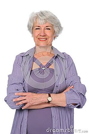 Senior Citizen Woman