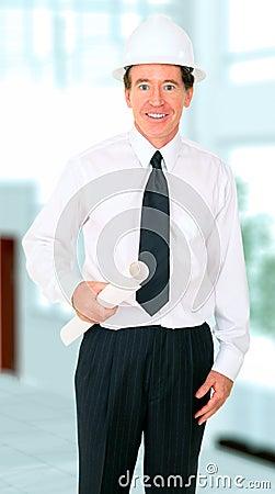 Senior Contractor Smiling