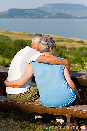 Free Senior Couple Royalty Free Stock Image - 19576876