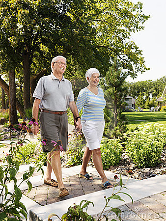 Free Senior Couple. Stock Photography - 3470692
