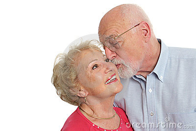 Senior Couple - Affectionate