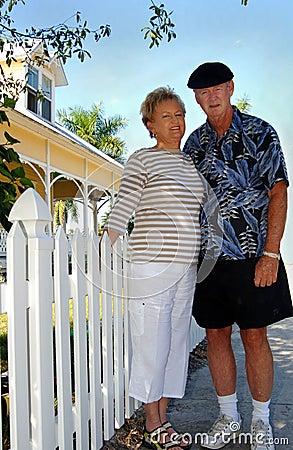 Senior couple american dream