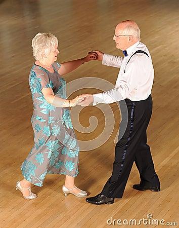 senior couple ballroom dancing stock photography image