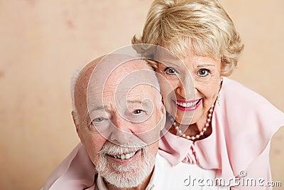 Senior Couple - Closeup Portrait