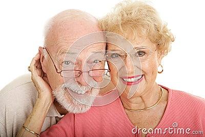 Senior Couple in Glasses