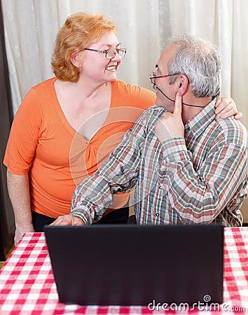 Senior couple lifestyle