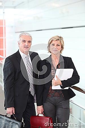 Free Senior Couple Of Teachers Stock Photos - 17822153