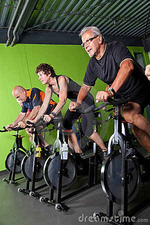 Free Senior Cycling Group Stock Photography - 9735222