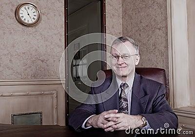 Senior executive anticipating retirement