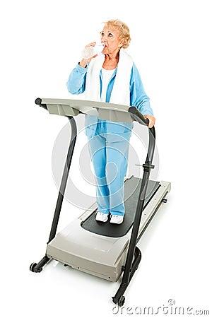 Free Senior Fitness - Hydration Royalty Free Stock Photo - 10860185