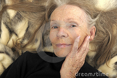 Senior Glamour Model Stock Images - Image: 13121004