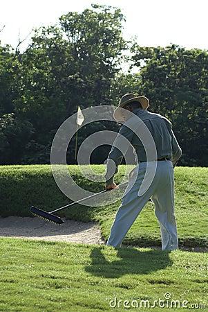 Senior Golf Course Grounds Keeper