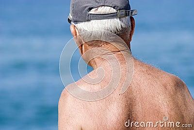 Senior grandfather pensioner 03