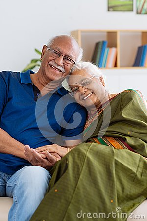 Free Senior Indian Couple Stock Photos - 48304693