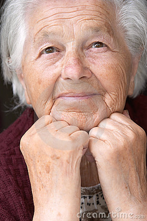 Free Senior Lady Royalty Free Stock Photo - 2563895