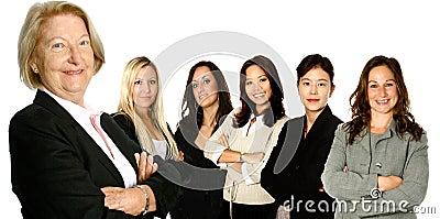 Senior leader and 5 team