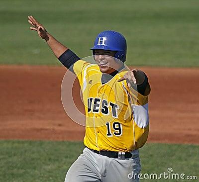 Senior league baseball world series 2011 celebrate Editorial Stock Image