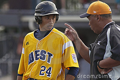 Senior league baseball world series 2011 manager Editorial Stock Image
