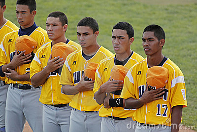 Senior league baseball world series anthem Editorial Photography