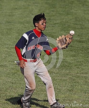 Senior league baseball world series bobble