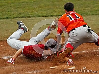 Senior league baseball world series maine slide