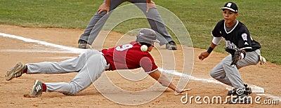 Senior league baseball world series pickoff