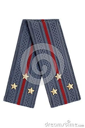 Senior Lieutenant of the Soviet police