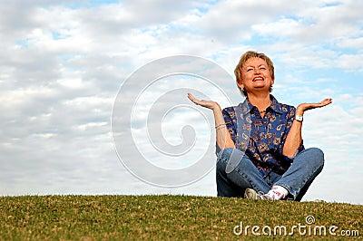 Senior meditation/praise
