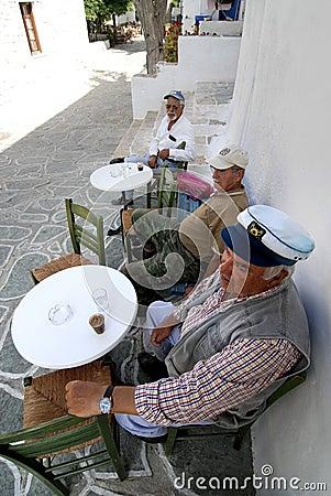 Free Senior Men Enjoying Their Coffee Royalty Free Stock Photo - 29676945