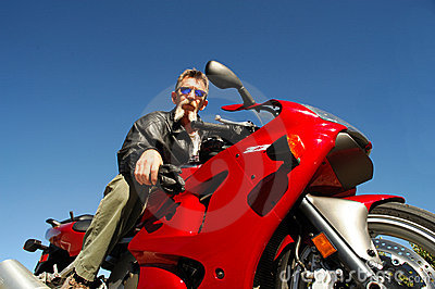 Senior Motorcycle Rider