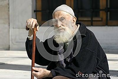 Senior Muslim Man
