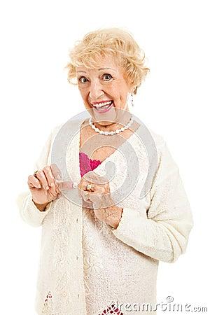 Senior with no Arthritis Symptoms