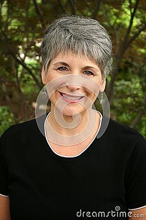 Senior Retired Woman