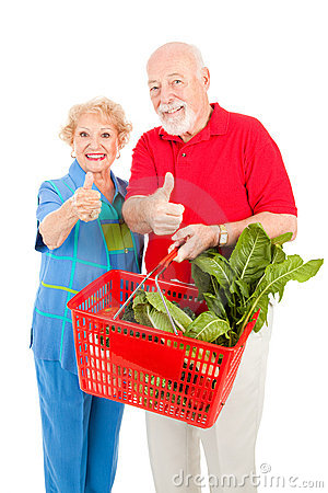 Senior Shoppers Give Thumbs Up